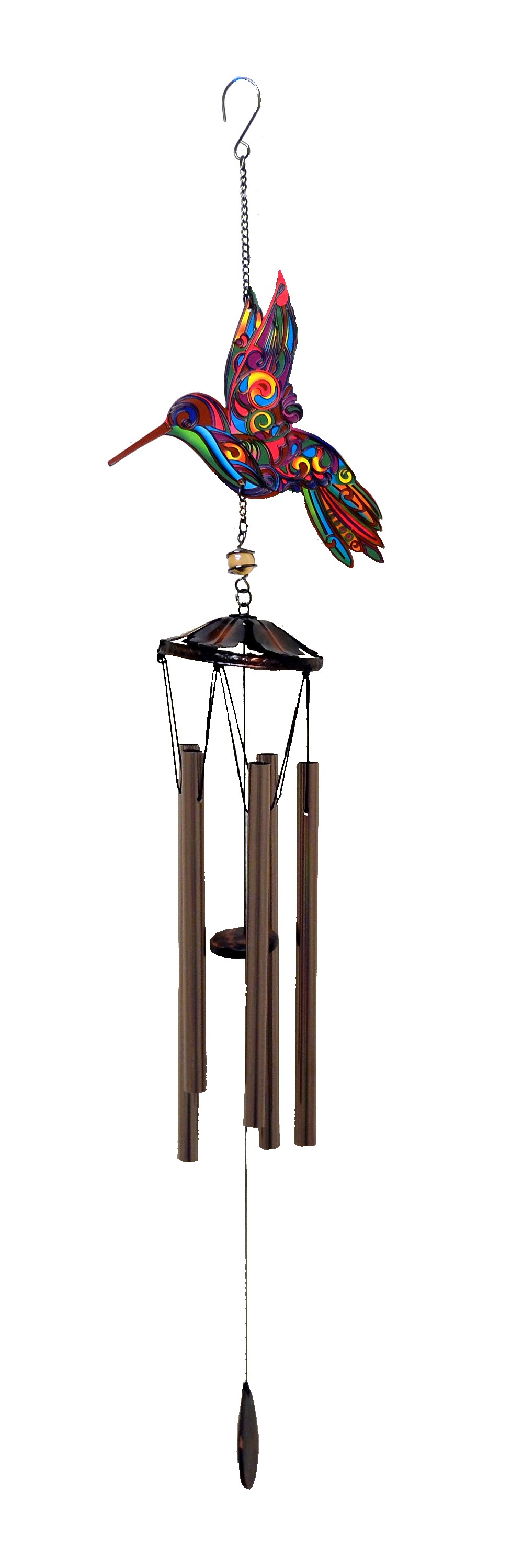 HBIRD BRAZILIAN STYLE PRINTED WIND CHIME