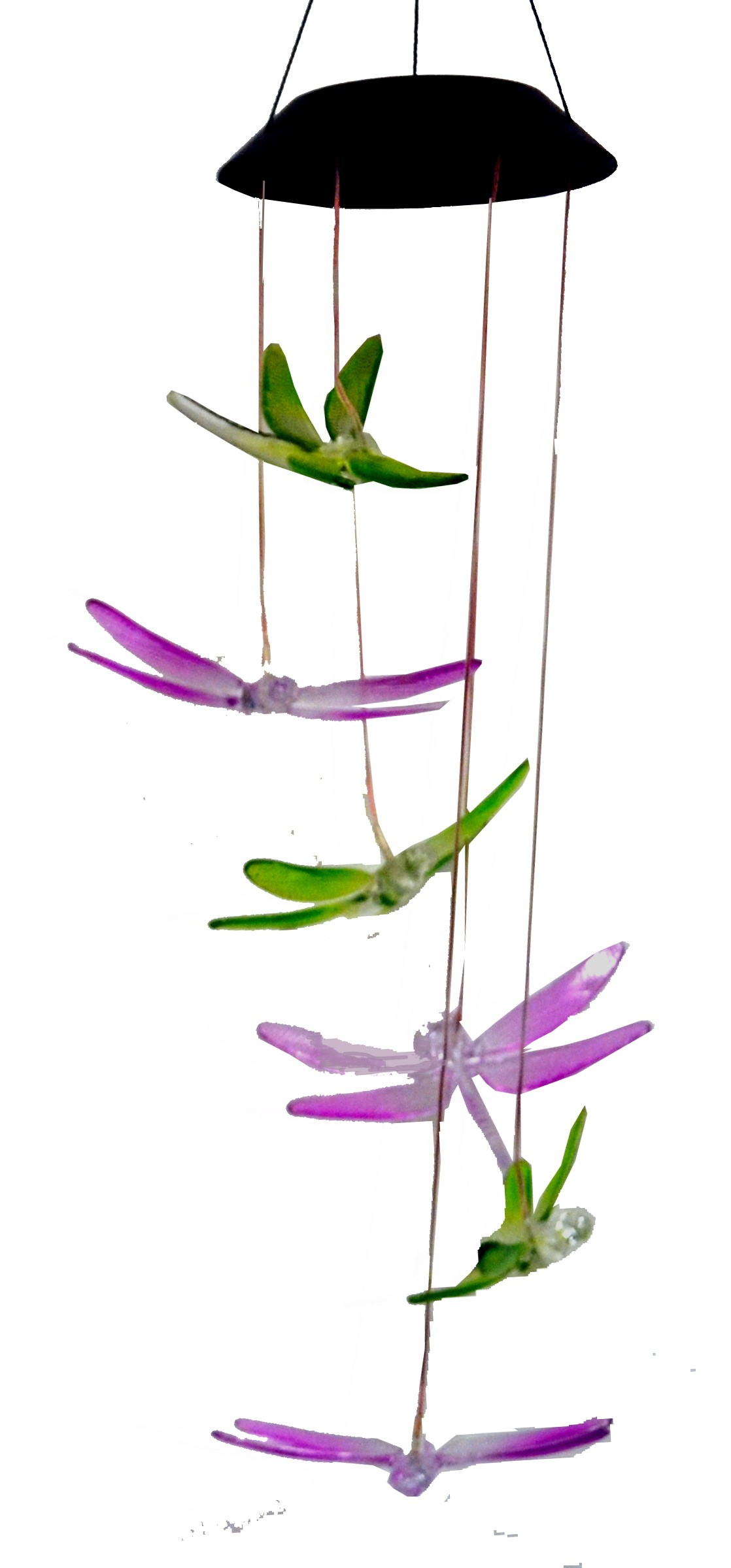 DRAGONFLY-ACRYLIC HANGING MOBILE SOLAR