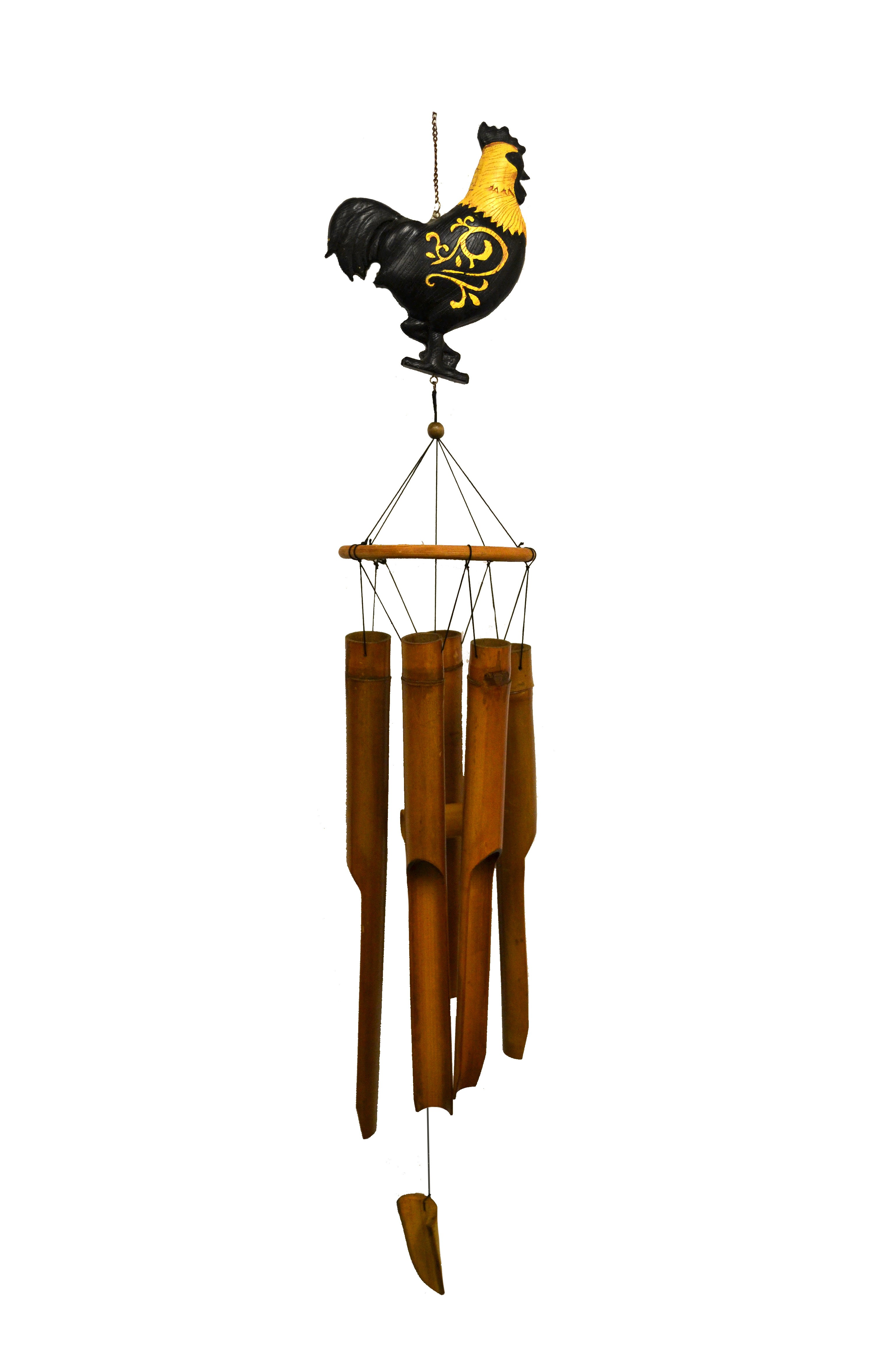 ROOSTER- LARGE ANIMAL BAMBOO CHIME