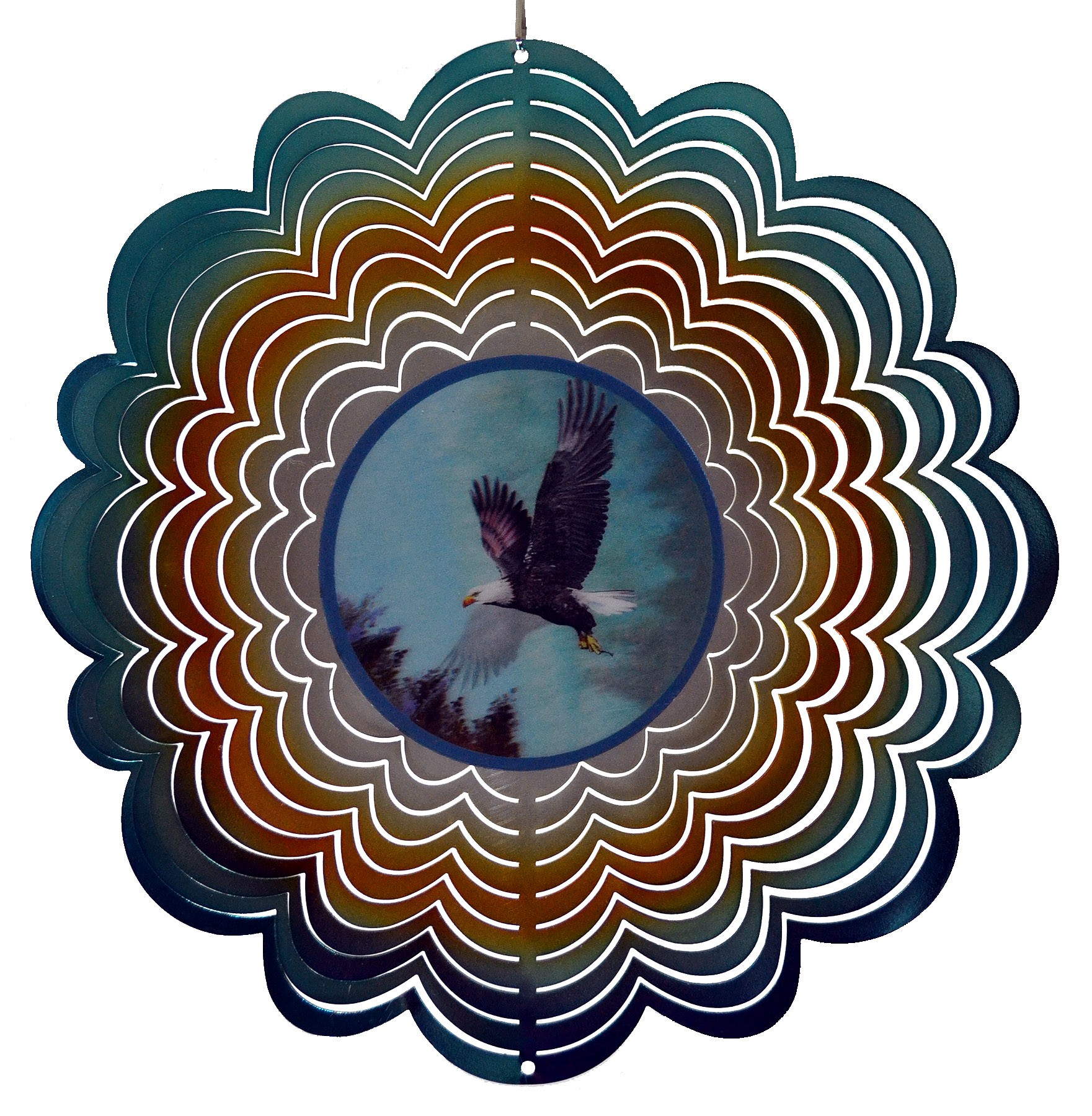 EAGLE HOLOGRAPHIC SPINNER