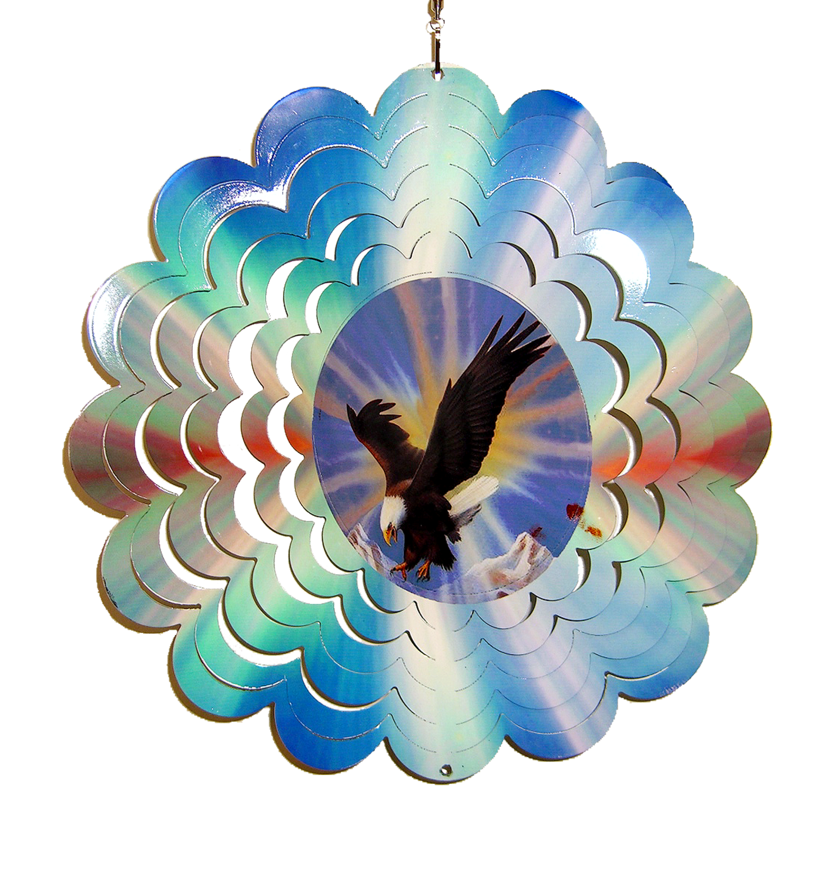 Eagle Metal Painted Spinner 12 inch 610006