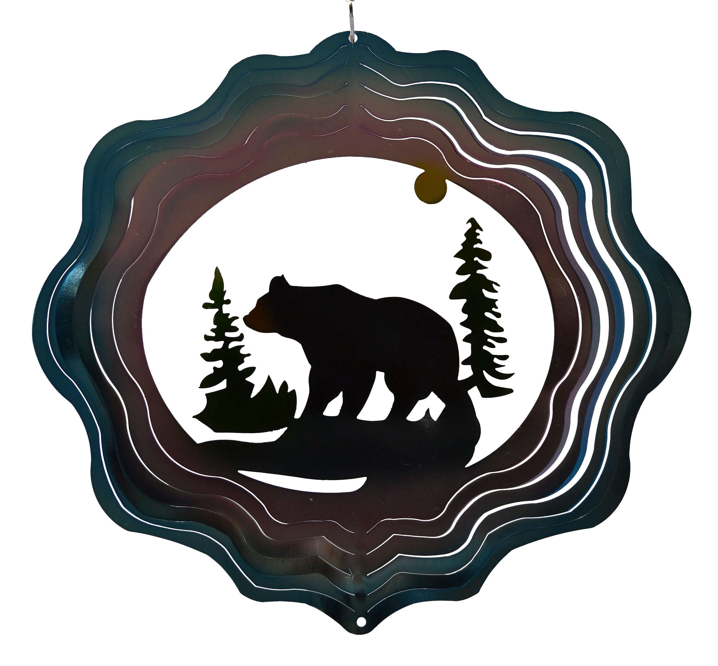 BLACK BEAR-ZEPHYR SPIRAL SPINNER
