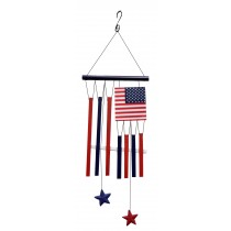 Flag Patrioic Wind Chime