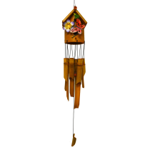Butterfly Bamboo Bird House Chime 36 inch 151003