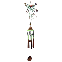 Angel Flat Metal Insect Chime with petite Tubes 36 inch 303005