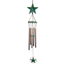 Green Star Large Metal Chime 36 inch 348003