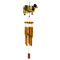 COW- SMALL ANIMAL BAMBOO CHIME
