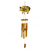 PIG- SMALL ANIMAL BAMBOO CHIME