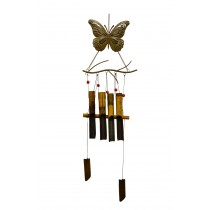 BUTTERFLY- RESIN BAMBOO CHIME
