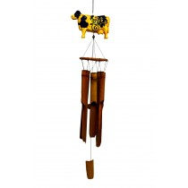 COW- LARGE ANIMAL BAMBOO CHIME