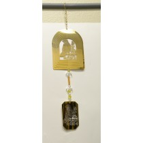 Dove Gold Wind Chime