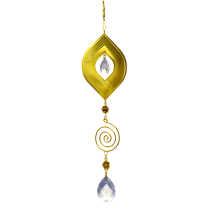 Marquise Gold Spinner with spiral 24 inch 890002