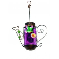 H.B Wire Tea Pot w/Solar-Glass Bottle