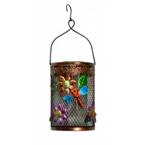 DRAGONFLY TWISTY METAL LED LAMP