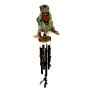 Chief Poly Resin Indian Chime 36 inch 74503