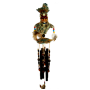 Warrior Poly Resin Indian Chime 36 inch 74504